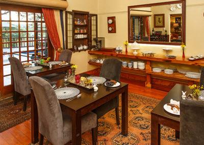 Dining Room Riverside Guest Lodge Oudtshoorn