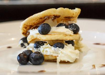 Dessert at Riverside Guest Lodge Oudtshoorn